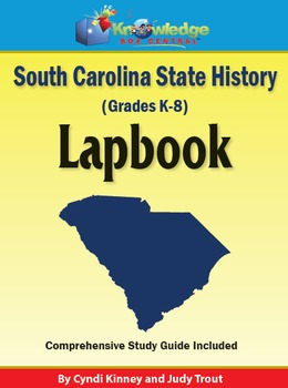 South Carolina State History Lapbook