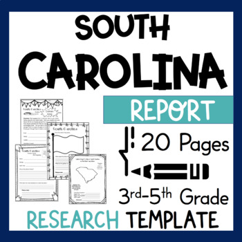 south carolina state research report project template timeline