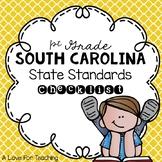 South Carolina State Standards Checklist {1st Grade}
