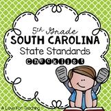 South Carolina State Standards Checklist {5th Grade}