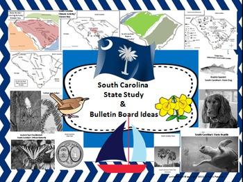 South Carolina State Study & Bulletin Board Set