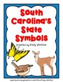 South Carolina State Symbol Cards