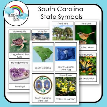 South Carolina State Symbols Teaching Resources Teachers Pay Teachers