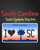 South Carolina State Symbols Clip Art