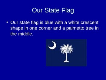 South Carolina State Symbols PowerPoint