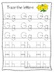 South Carolina State Symbols themed A-Z Tracing Preschool Handwriting Worksheets