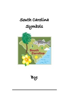 South Carolina Symbols Booklet