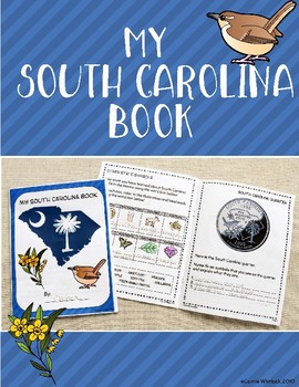 South Carolina Symbols Booklet