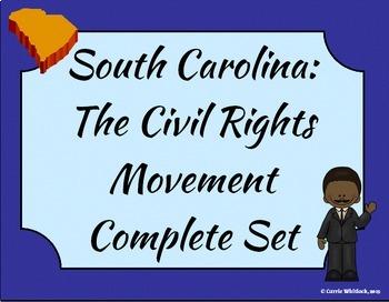 South Carolina -The Civil Rights Movement Complete Set 3-5.5