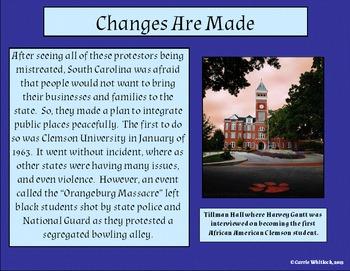 South Carolina - The Civil Rights Movement Presentation 3-5.5