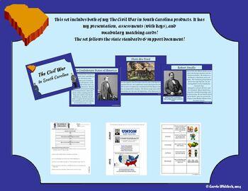 South Carolina - The Civil War Complete Set 3-4.4