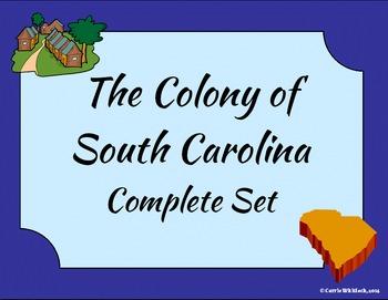 South Carolina - The Colony of South Carolina Complete Set 3-2.4