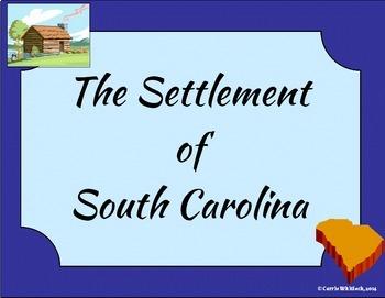 South Carolina - The Settlement of South Carolina Presentation 3-2.3