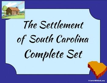 South Carolina - The Settlement of South Carolina Complete Set 3-2.3