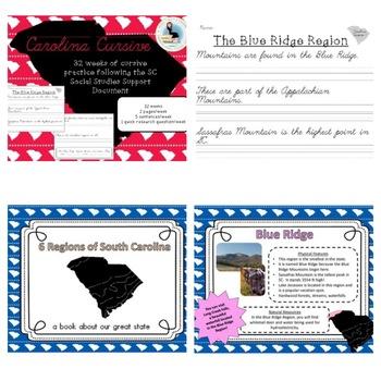 South Carolina Third Grade Bundle