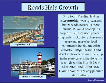 South Carolina -Tourism Complete Set 3-5.6