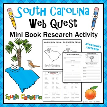4th grade geography webquests resources lesson plans teachers south carolina webquest common core research mini book publicscrutiny Image collections