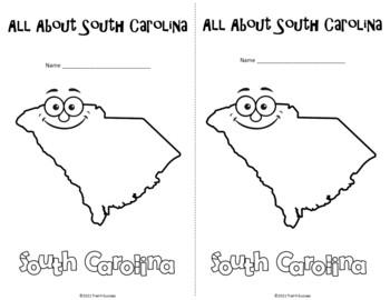 South Carolina Webquest Common Core Research Mini Book