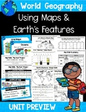 South Carolina World Geography - Map Skills & Earth's Features