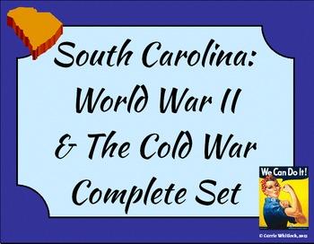 South Carolina - World War 2 & The Cold War Complete Set 3-5.4