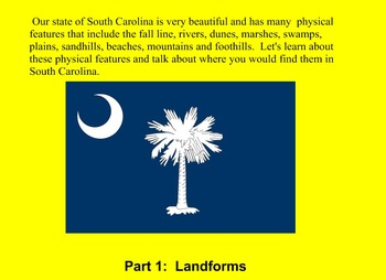 South Carolina landform regions and river systems