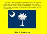 South Carolina landform regions and river systems