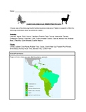 South/Central American Wildlife/Plant Research Activity