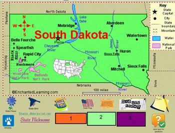 All About South Dakota