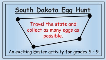 South Dakota Easter Math Activity