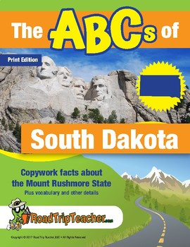 South Dakota Handwriting Printables - Print Edition