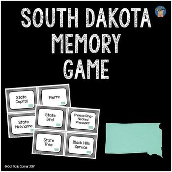 South Dakota Memory Game