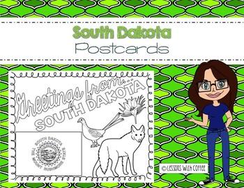 South Dakota Postcard - Classroom Postcard Exchange