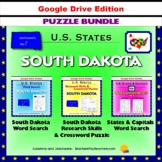 South Dakota Puzzle BUNDLE - Word Search & Crossword - U.S. States - Google
