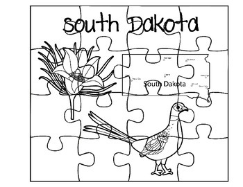South Dakota Puzzle Set
