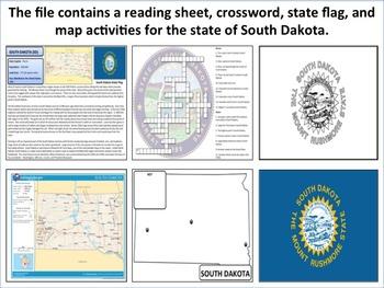 South Dakota - State Activity Set