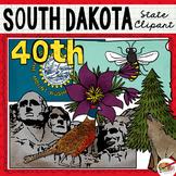 South Dakota State Clip Art