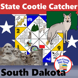 South Dakota State Facts and Symbols Cootie Catcher Distan