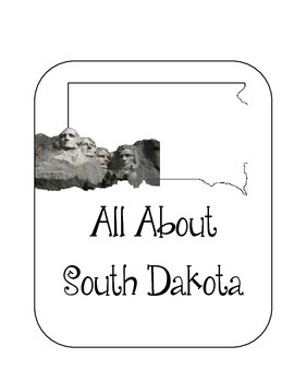 South Dakota State Lapbook. Interactive Notebook. US History and Geography