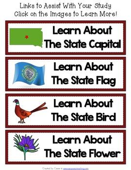 South Dakota State Symbols Notebook