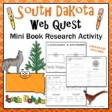 South Dakota Webquest Informational Reading Research Activity Mini Book