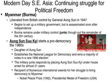 South East Asia in the 20th Century: Nationalism, Communism, & Conflict