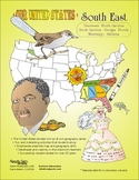 South-East States-'Our United States series' 37-Page Thematic Booklet