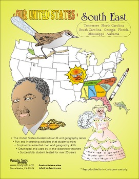 South-East States-'Our United States series' 37-Page Thema