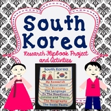 South Korea Flip Book Research Project, Activities, Comic