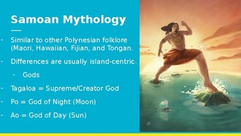 South Pacific Folklore: Samoa Folklore, Legends, and Myths
