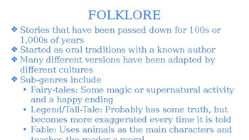 South Pacific Folklore: Samoa Folklore, Legends, and Myths Close Reading Unit