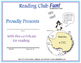 South Pole Reading Log and Certificate Set