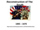 South: Reconstruction After Civil War