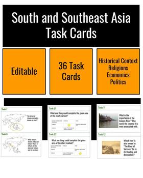 South Southeast Asia Task Cards