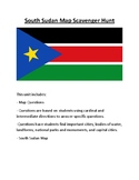 South Sudan Map Scavenger Hunt